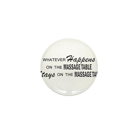 Whatever Happens - Massage Table Mini Button
