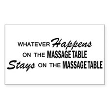 Whatever Happens - Massage Table Decal