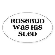 Rosebud Decal