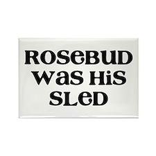 Rosebud Rectangle Magnet