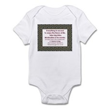 Everything In Excess Infant Bodysuit