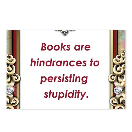 Persisting Stupidity Postcards (Package of 8)