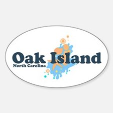 Oak Island NC - Seashells Design Decal