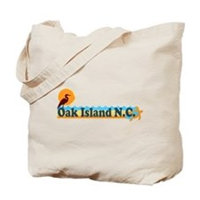 Oak Island NC - Beach Design Tote Bag
