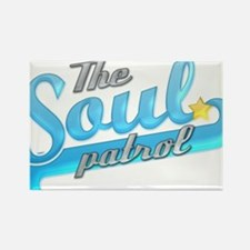 Soul Patrol Blue Rectangle Magnet