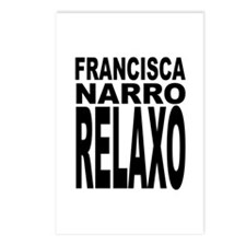 Latin Frankie Say Relax Postcards (Package of 8)