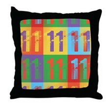 Class 2011 Throw Pillow