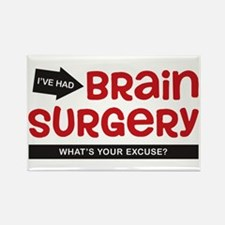 Brain Surgery Rectangle Magnet (10 pack)