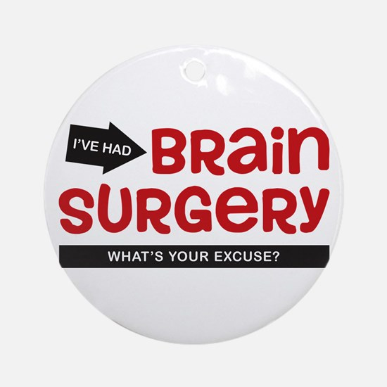 Brain Surgery Ornament (Round)