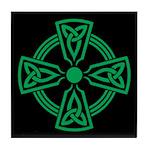 Celtic Cross Tile Coaster