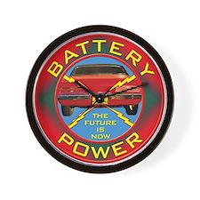 Battery Power Wall Clock