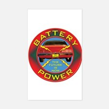 Battery Power Decal