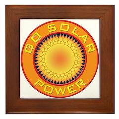 Solar Power Framed Tile