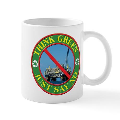 Say no to oil Mug