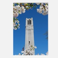 NC State Bell Tower Spring Cards (Package of 8)