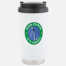 Clean and Green Stainless Steel Travel Mug