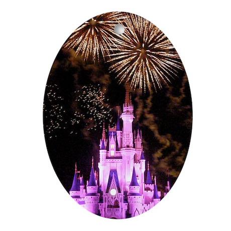 Cinderella Celebration Ornament (Oval)
