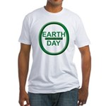 Earth Day Fitted T-Shirt
