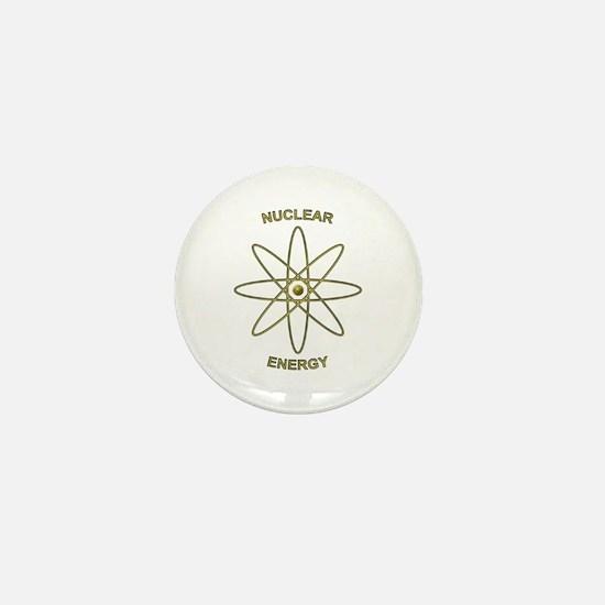 Nuclear Energy Mini Button