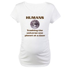 Human Error Maternity T-Shirt