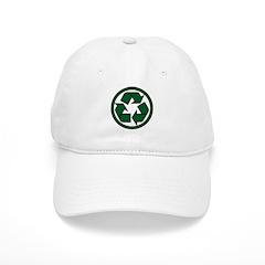Recycle Symbol Baseball Cap