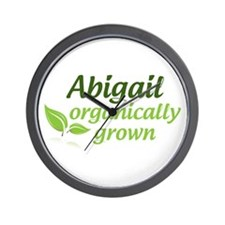 Organic Abigail Wall Clock