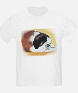 sleeping saint bernard Kids T-Shirt