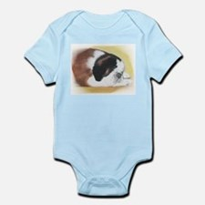 sleeping saint bernard Infant Creeper