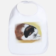 sleeping saint bernard Bib
