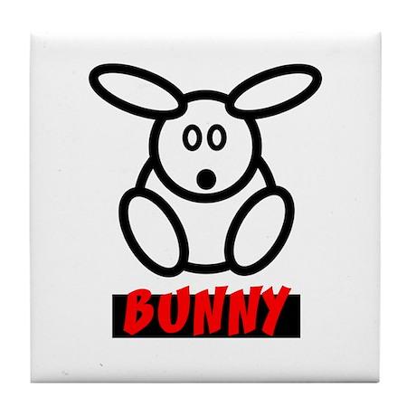 The Bunny Tile Coaster