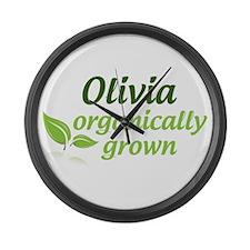 Olivia Organic Large Wall Clock