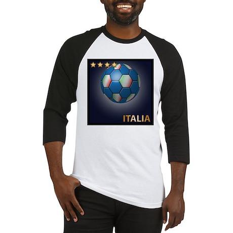 Italia Soccer Ball Baseball Jersey
