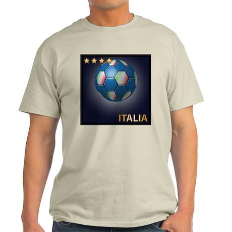 Italia Soccer Ball Light T-Shirt