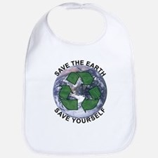 Save the earth Bib