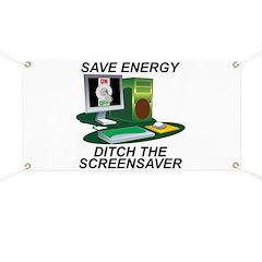 Save energy Banner