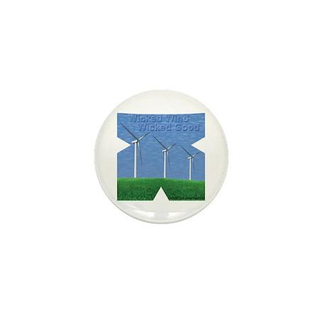 Wicked Wind Mini Button