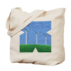 Wicked Wind Tote Bag