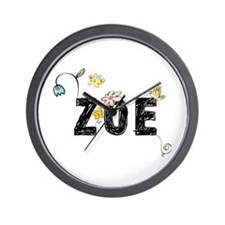 Zoe Floral Wall Clock
