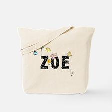 Zoe Floral Tote Bag