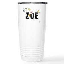 Zoe Floral Travel Mug