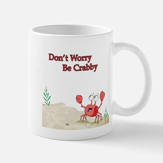 Be Crabby Mug