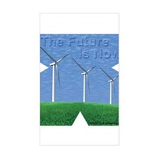 The Future is now Decal