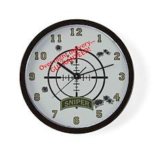 Sniper Wall Clock 1