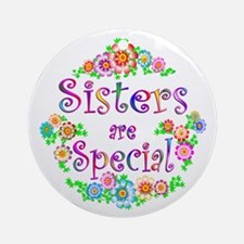 Sister Ornament (Round)