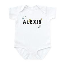 Alexis Floral Infant Bodysuit
