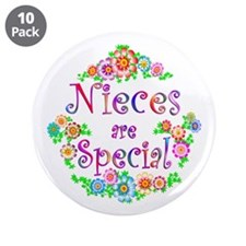 "Niece 3.5"" Button (10 pack)"