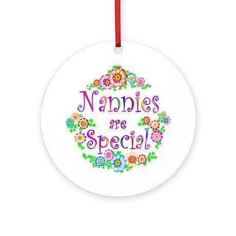 Nannie Ornament (Round)