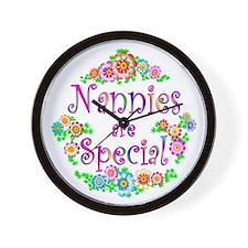 Nannie Wall Clock