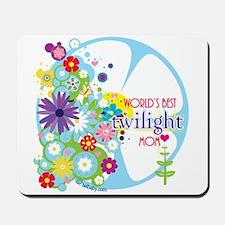 World's Best Twilight Mom Mousepad