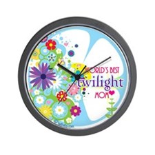 World's Best Twilight Mom Wall Clock
